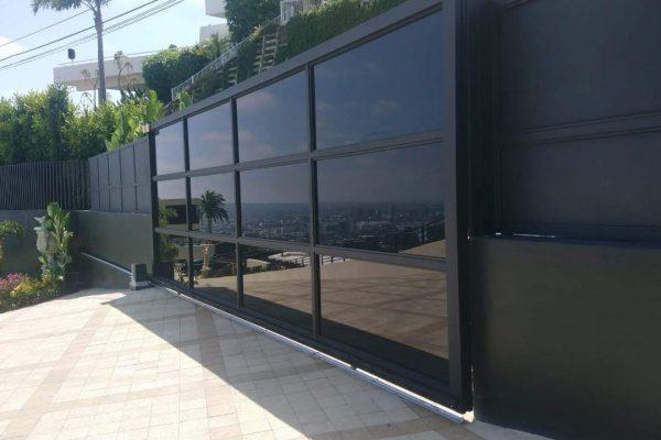 glass gate